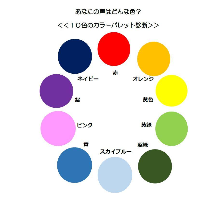 の カラー は あなた